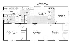 home floor plans for sale the san jacinto csp352a3 manufactured home floor plan or modular