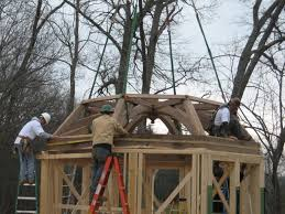 Octogon House by Another Octagon Timberframe Crooked River Farm