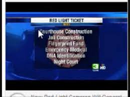 red light ticket video big brother s new red light video cameras youtube