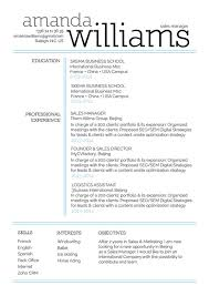 professional resume sample leader resume mycvfactory