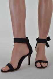 ribbon heels black ribbon heeled sandals