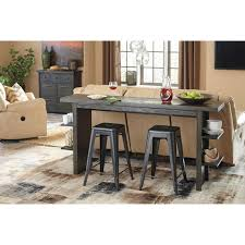 Marble Counter Table by Contemporary Long Counter Table And Barstool Set By Signature