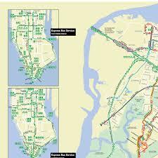 Staten Island Map Staten Island Bus