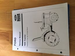 new holland ford tractor service manual supplement 1620 u2022 50 00
