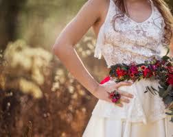 floral belt etsy