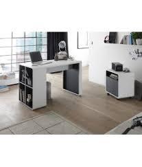 bureau blanc et gris bureau moderne blanc gris novomeuble