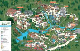 theme park insiders map of all top us theme parks what us