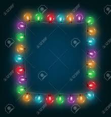 multi colored led christmas lights multicolored glassy led christmas lights garland like frame on