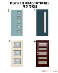 Exterior Doors Discount Doors Galore 8 Places To Find Midcentury Modern Entry Doors