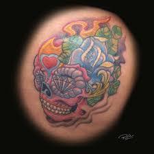 flower skull by rickzor1983 on deviantart