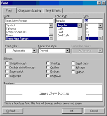 How To Use Resume Template In Word 2007 How To Set The Default Font In Word