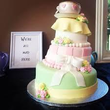 Alice In Wonderland Baby Shower Decorations - plain design alice in wonderland baby shower cake majestic best 25