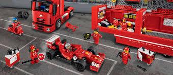 lego ferrari lego speed champions f14 t u0026 scuderia ferrari truck 75913