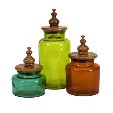 accessories wonderful french ceramic canisters set omero home