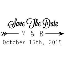 Save The Date Stamp Save The Date Stamps Rubberstamps Com