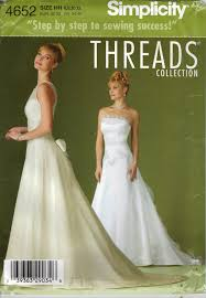 wedding dress sewing patterns wedding dress sewing patterns simplicity wedding dresses