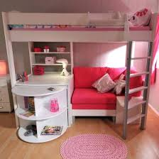 savannah storage loft bed with desk white and pink attractive storage loft bed with desk 6 futbol51 com