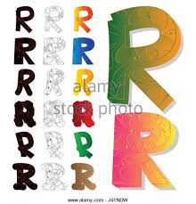 letter r logo set stock photos u0026 letter r logo set stock images