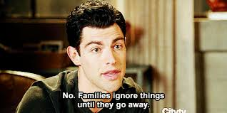 New Girl Meme - new girl quote about families gifs ignore