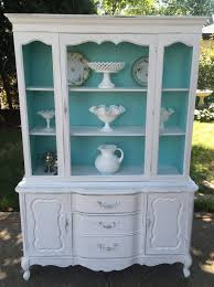 shabby chic china cabinet beautiful vintage shabby chic china cabinet cottage style storage