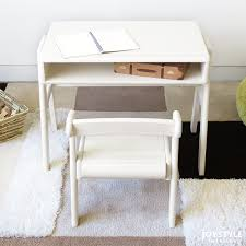 White Children S Desk by Joystyle Interior Rakuten Global Market Miniature Desk And