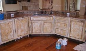 Antique White Glazed Kitchen Cabinets Suitable Distressed White Wood Kitchen Cabinets Tags Distressed