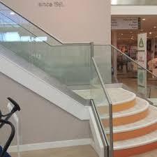 Frameless Glass Handrail New Design Aluminium U Channel Frameless Glass Railing For Balcony