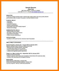Resume Example For Medical Assistant by Sample Medical Assistant Resume Resume Examples Medical Assistant