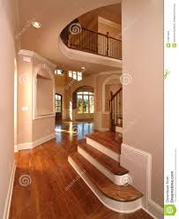 Home Interior Stairs by Model Luxury Home Interior Hallway With Stairs Stock Images