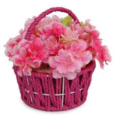 artificial flower pink artificial flowers in