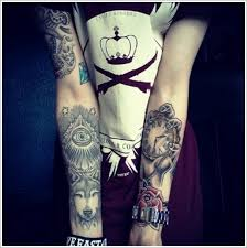 meaningful wolf tattoo designs busbones