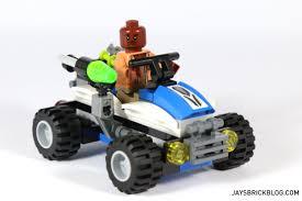 jurassic world vehicles review lego 75920 u2013 raptor escape