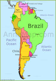 south america map atlas south america map annamap