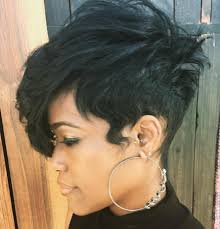 black women with short haircut and tappered sides 60 great short hairstyles for black women long sides side bangs