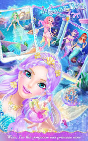 princess salon mermaid doris android apps google play