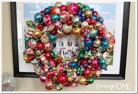 vintage ornament wreath tips finding home farms