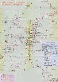 Yuan Dynasty Map Taiyuan Mt Wutai Shanxi