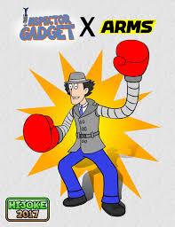 inspector gadget arms hijokethedragon deviantart