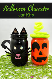 halloween character jar kits the inspiration vault