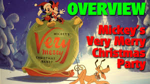 mickey u0027s very merry christmas party 2016 overview magic kingdom