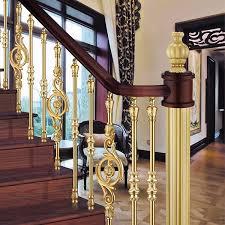 European Interior Design European Interior Design Classical Aluminum Stair Railing Luxury