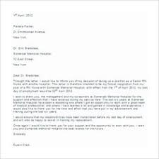 sample resignation letter without notice office cleaning perth