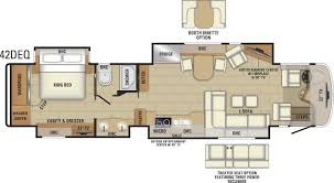 Open Range Fifth Wheel Floor Plans by 2018 Anthem Luxury Class A Mortorhome Entegra Coach