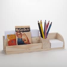 organiseur bureau grand organisateur de bureau en bois porte cartes et poste stylos