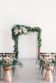 wedding arch garland stunning indoor wedding arch ideas to accent weddings unique way