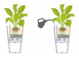 self watering indoor planters self watering planters flower pots