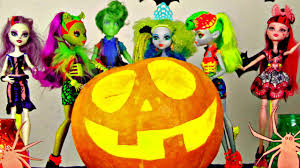 monster high halloween monster high halloween pumpkin costume party ghosts goblins