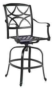 Vintage Woodard Wrought Iron Patio Furniture by Wrought Iron Swivel Bar Stools Stools Black Backless Bar Stools