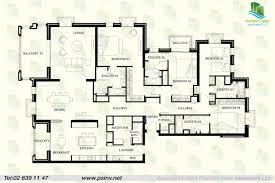4 Bedroom Bungalow Floor Plan by Plan For Four Bedroom Flat Home Design Ideas