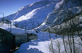 pictures from winter in fjord travel
